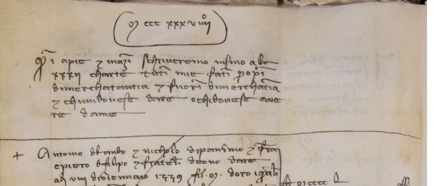 Example 1 (Newberry VAULT oversize Case MS 27, f.1v):